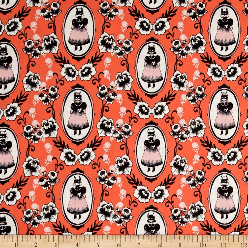 Cotton + Steel Boo Ophelia Coral
