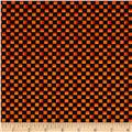 Maywood Studio Halloweenie  Simple Checkerboard Black/Orange