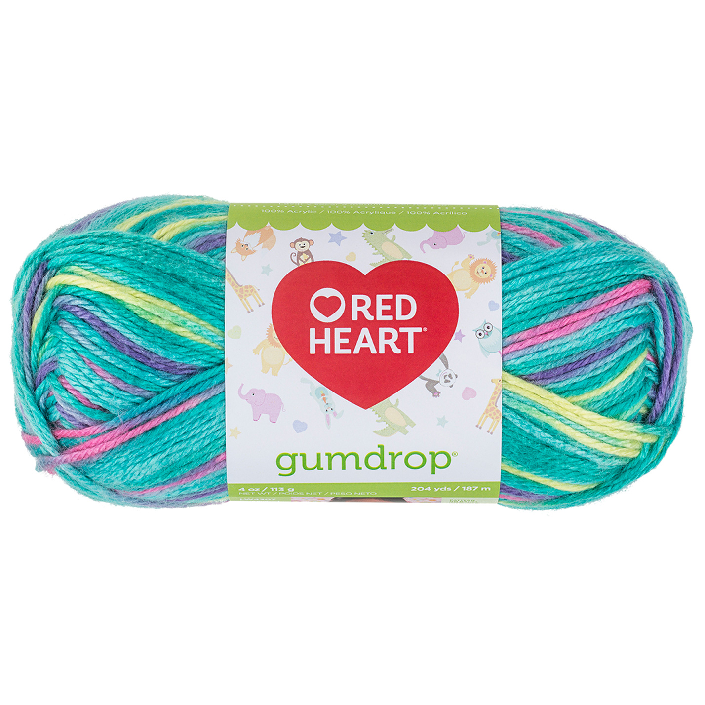 Red Heart Gumdrop Yarn 501 Smoothie by Coats & Clark in USA