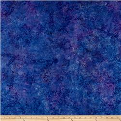 Jinny Beyer Malam Batiks III Packed Floral Purple