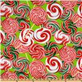Kanvas Peppermint Twist Lollipops Lime
