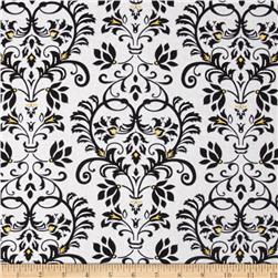 Audrey Damask White