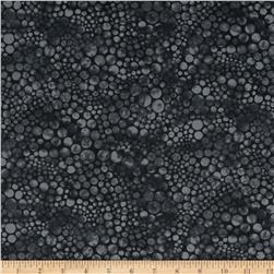 Dew Drops Bubble Dots Charcoal