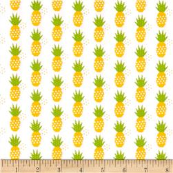 Riley Blake Fresh Market Pineapple White