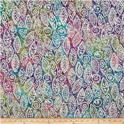 Indian Batik Abstract Pastel/Multi