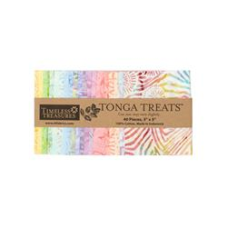 "Timeless Treasures Tonga Batik Bouquet 5"" Square"