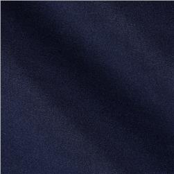 Stretch Blend Bengaline Suiting Navy Fabric