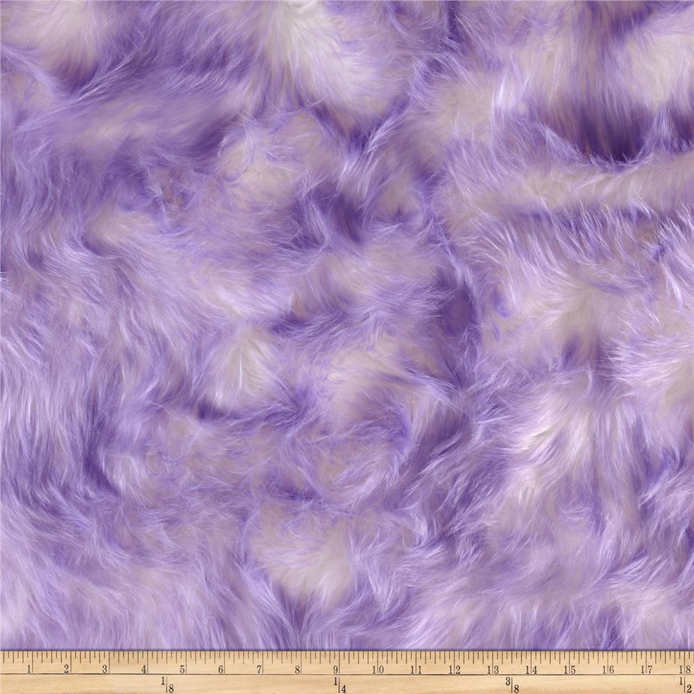 Luxury Faux Fur Candy Shag Lavender