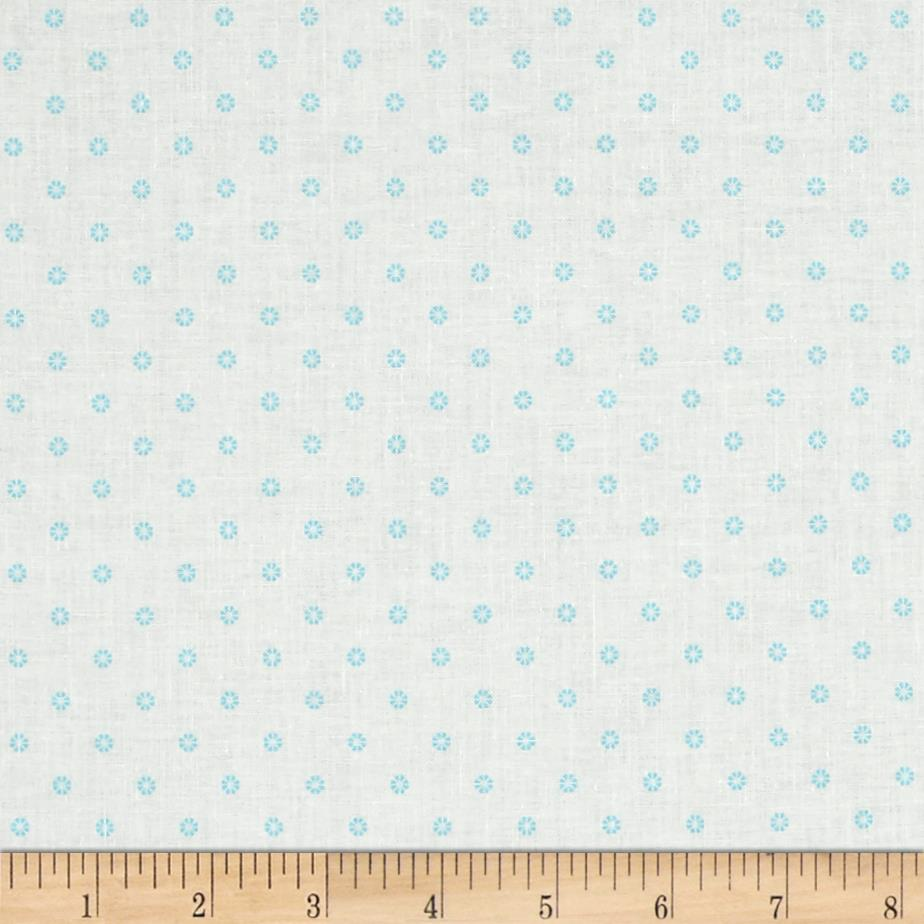 First Blush Daisy Dot Aqua