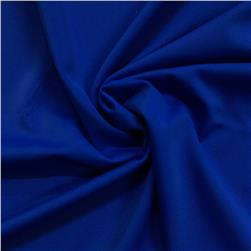 Matte Tricot Knit Royal Blue