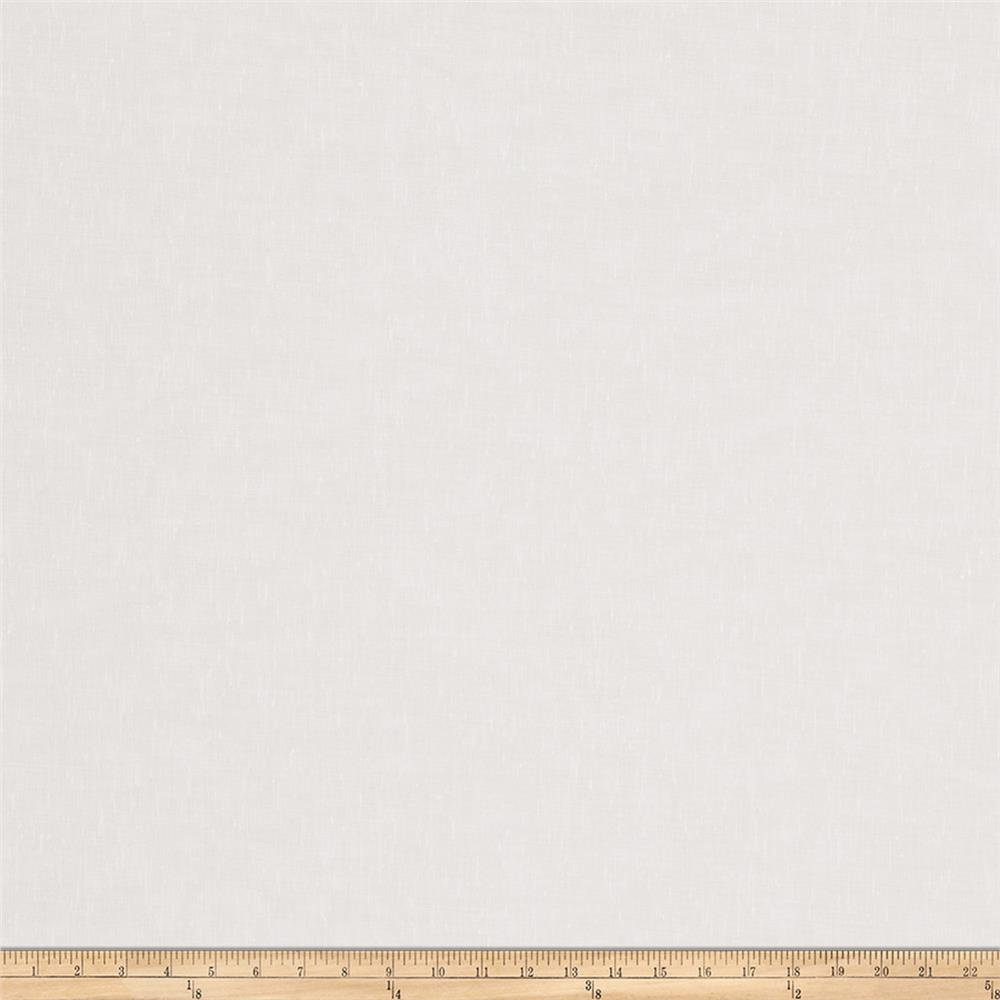 Trend 02661 118'' Wide Drapery Sheers White Fabric