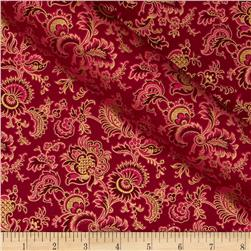 Alchemy Metallic Jacobean Fuchsia