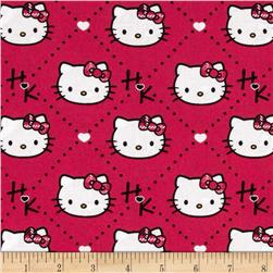 Hello Kitty Plaid Diamond Pink