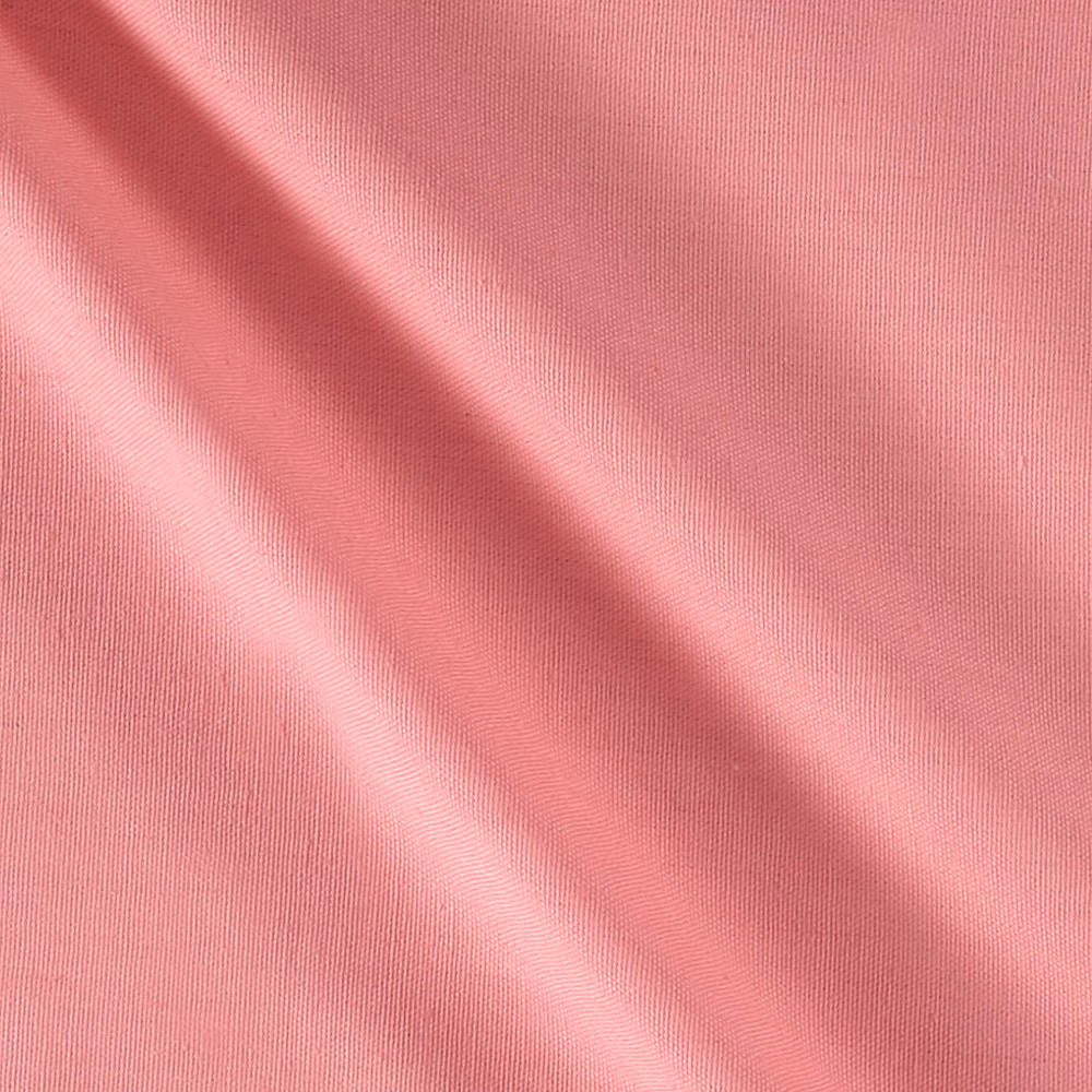 7 oz. Cotton Duck Pink Fabric by James Thompson in USA