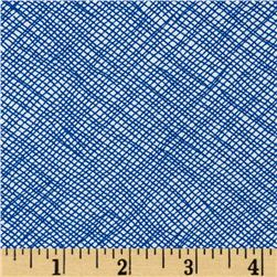 108'' Wide Quilt Backing Widescreen Grid Pacific Fabric