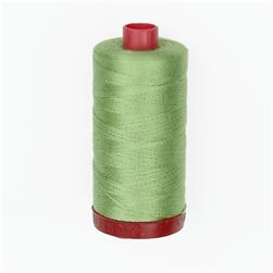Aurifil 12wt Embellishment and Sashiko Dreams Thread Spring Green