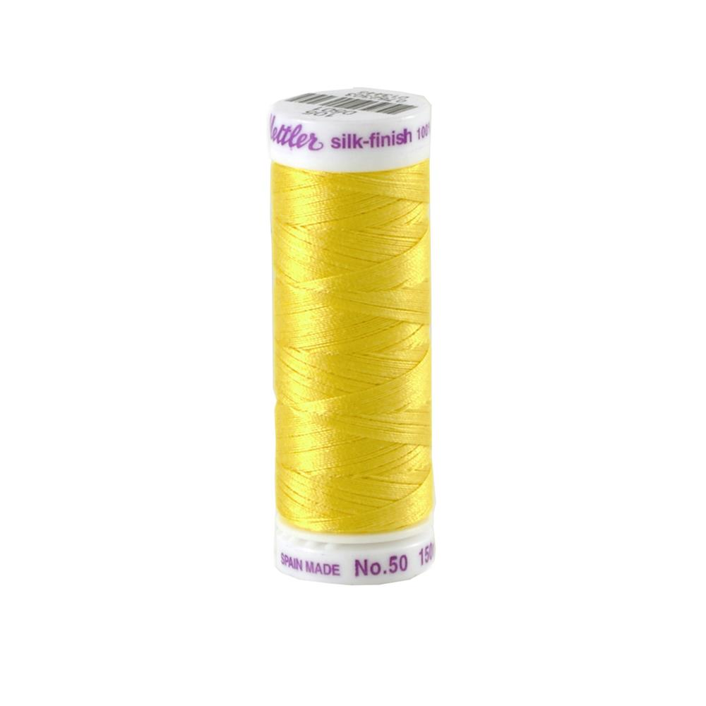 Mettler Cotton All Purpose Thread Lemon Zest
