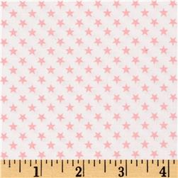 Kaufman Sevenberry Classiques Small Star Baby Pink