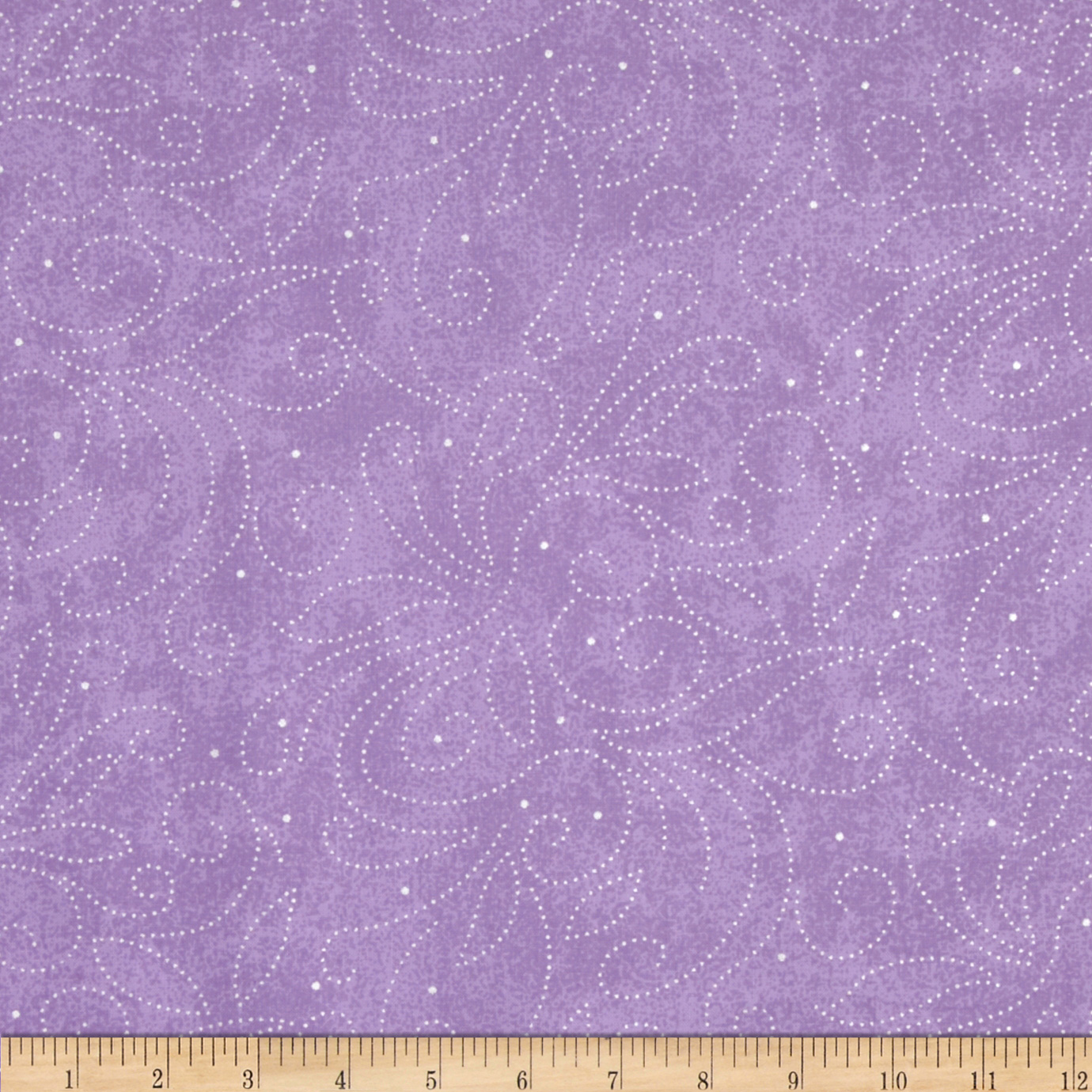 110'' Wide Quilt Backing Scroll Fabric