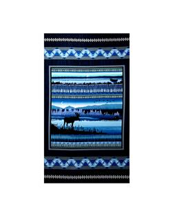 Moose Creek Lake 23 In. Panel Navy