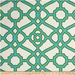 P Kaufmann Indoor/Outdoor Pavilion Fretwork Jade