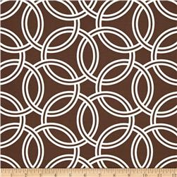 Michael Miller Bekko Home Decor Swirl Brown