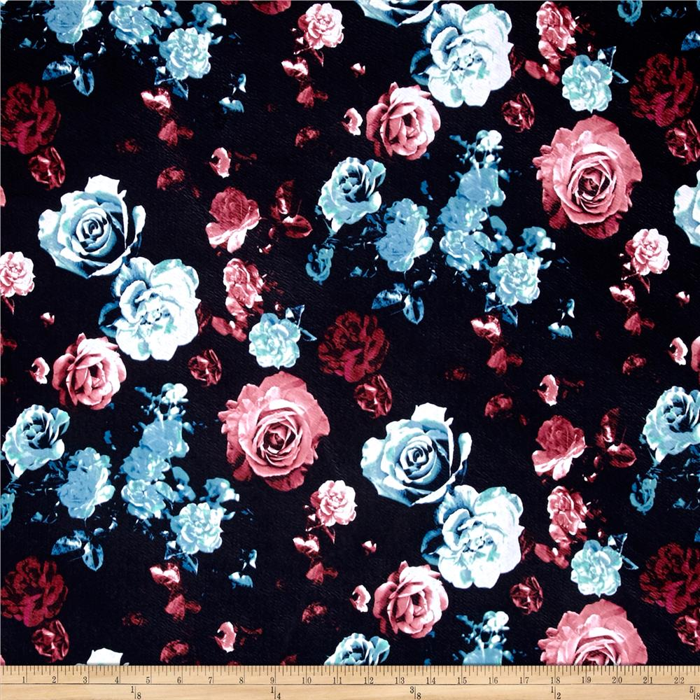 Liverpool Double Knit Rose Garden Pink/Turquoise