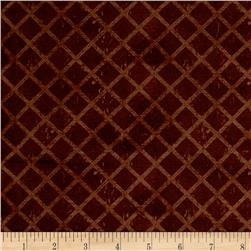 International Coffee Lattice Brown