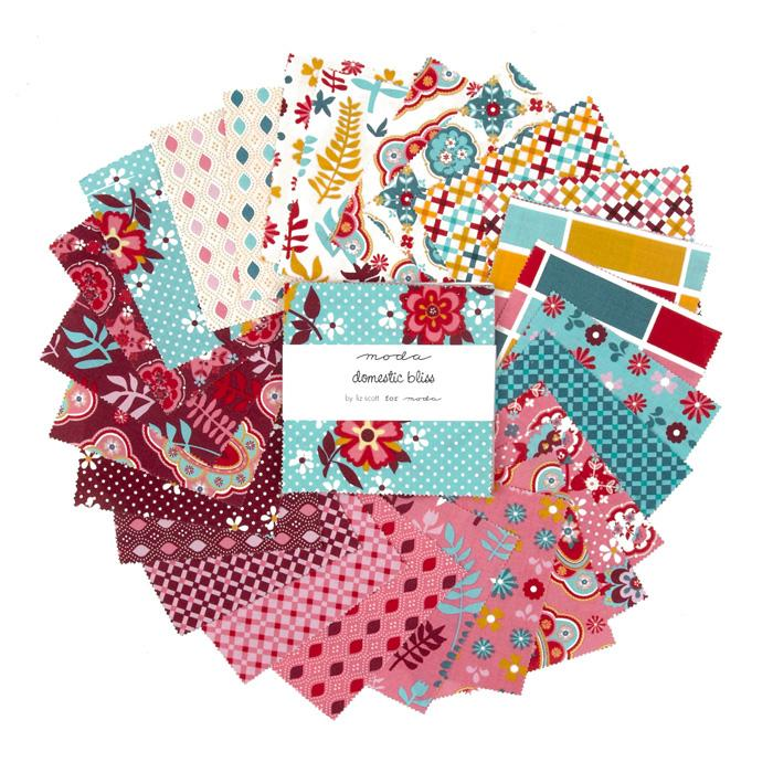 Moda Domestic Bliss 5'' Charm Pack