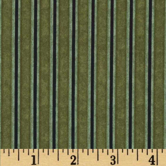 Harvest Fare Stripe Olive