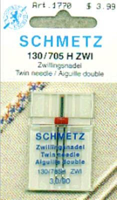Schmetz Twin Machine Needle 3.0/90