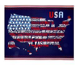 "Patriotic Pride 35"" Panel Navy"