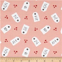 Penny Rose Five & Dine Tags Pink