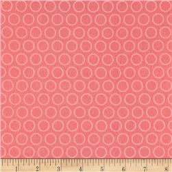 Riley Blake Just Dreamy 2 Flannel Circles Pink