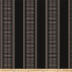 Kendall Wilkinson Indoor/Outdoor Jacquard Sunset Stripe Black Rock