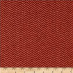Penny Rose Menswear Plaid ZigZag Red