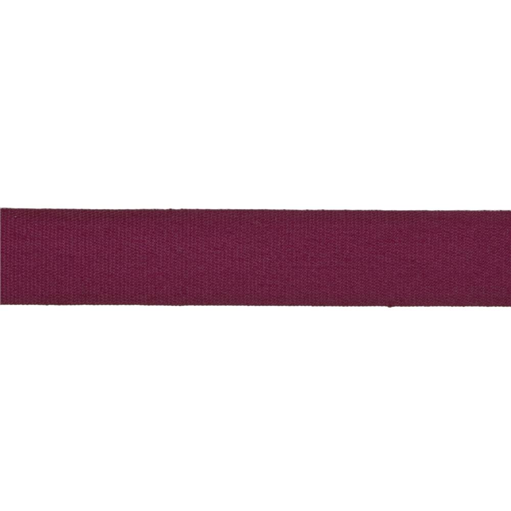 "5/8"" Faux Canvas Ribbon Burgundy"