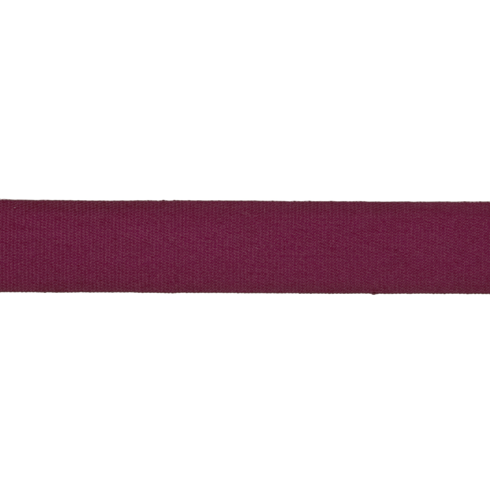 5/8'' Faux Canvas Ribbon Burgundy