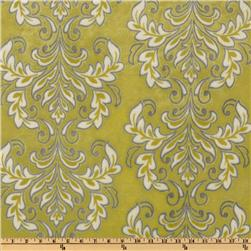 Mar Bella Minky Madrid Cuddle Olivia Lime Fabric