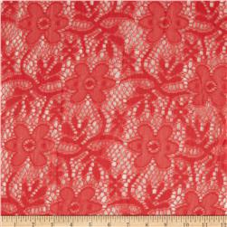 Doily Lace Flowers Watermelon