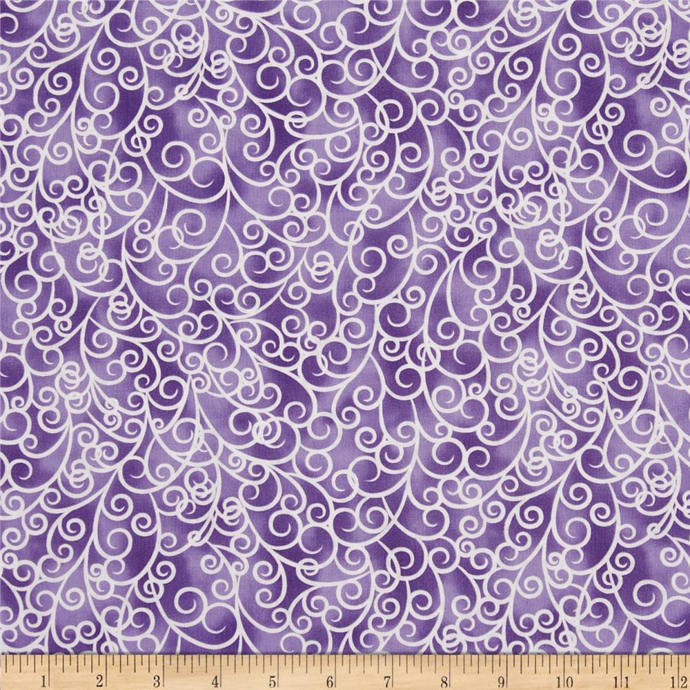Petal Poetry Swirl Purple
