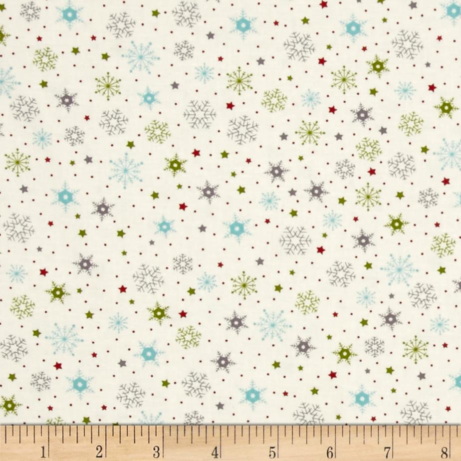 Moda The Cookie Exchange Snowflakes Multi