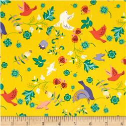Seven Islands Birds & Butterflies Yellow