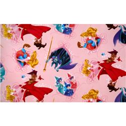 Disney Sleeping Beauty Fleece Sleeping Beauty and Prince Charming Pink