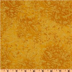Michael Miller Fairy Frost Amber Gold Fabric