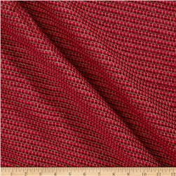 Ribbed Chenille Basketweave Strawberry