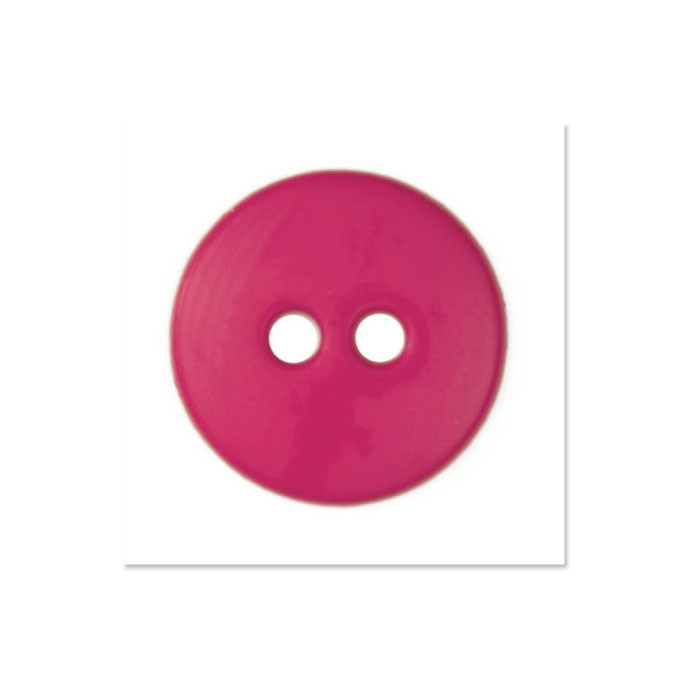 Image of Colors by Favorite Findings 5/8'' Buttons 20/Pack Carnation