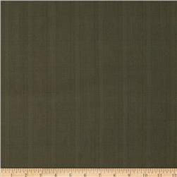 Stretch Yarn Dyed Suiting Subtle Plaid Brown/Green Fabric