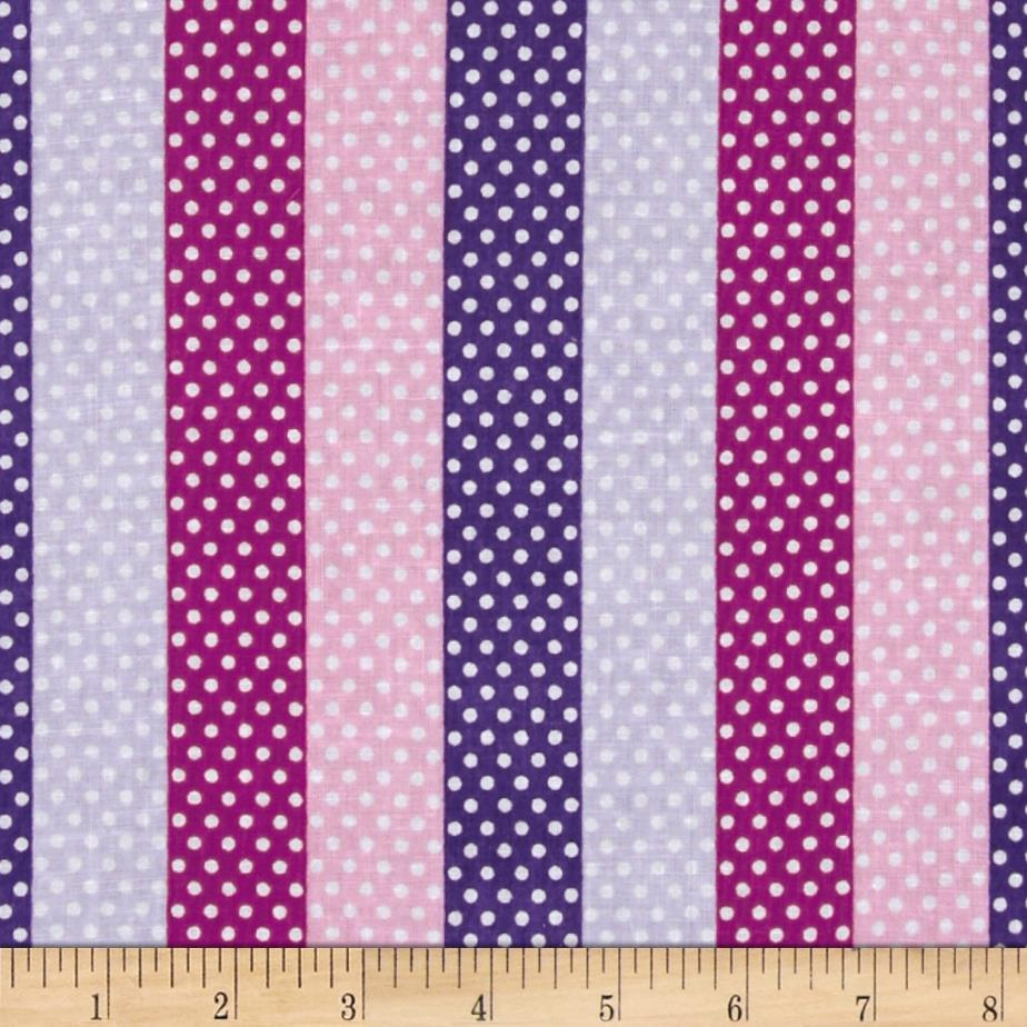 Newcastle Novelties Dotted Stripe Fuchsia