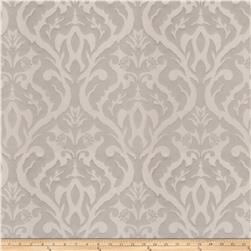 Fabricut Costner Damask Faux Silk Grey